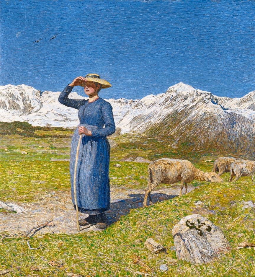 Mezzogiorno sulle Alpi - Segantini